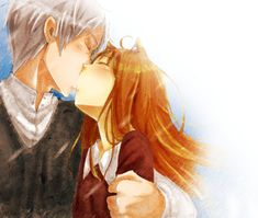 Lawrence and Holo by LeLapinAgile on DeviantArt