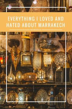 Have you ever had a love-hate relationship with a city? For me, that city is Marrakech, Morocco. Read about what I did and didn't like about Marrakech and what you can do to prevent the same frustration.