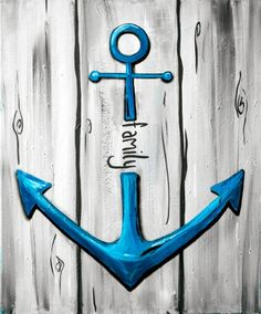 Find the perfect thing to do tonight by joining us for a Paint Nite in Red Deer, AB, featuring fresh paintings to be enjoyed over drinks! Diy Canvas, Canvas Wall Art, Anchor Canvas Paintings, Blank Canvas, Family Painting, Diy Painting, Anchor Painting, Anchor Wallpaper, Anchor Pictures