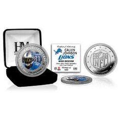 Calvin Johnson Silver Color Coin