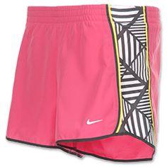 Nike Women's Side Panel Printed Pacer Running Short #FinishLine #fitness $19.99