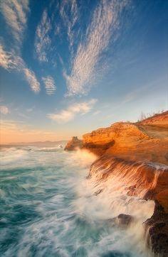 Cape Kiwanda (Oregon) by David Richter / 500px
