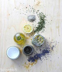 Kotikosmetiikkaa kasveista | Kotivinkki
