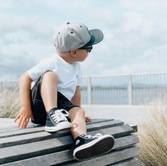 "Tiny Style • Noosa Kids on Instagram: ""A hot fav our high tops in black 🙌🏼 you can still grab a pair with our 30% off sale use code BOX30 at checkout! . . . . . #conversekids…"""
