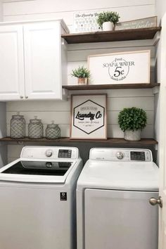 36 Smart Farmhouse Laundry Room Storage Organization Ideas 36 Smart Farmhouse Laundry Room Storage O Laundy Room, Room Remodeling, Laundry Room Remodel, Room Renovation, Room Inspiration, Laundry In Bathroom, Room Makeover