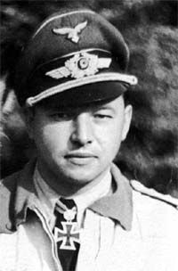 """✠ Hans """"Assi"""" Hahn (born 14 April 1914 – 18 December 1982) He was shot down and captured by Russian forces in 1943,"""