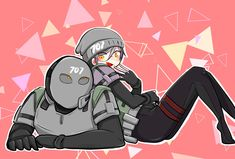 Rainbow Six Siege Anime, Rainbow 6 Seige, Tom Clancy's Rainbow Six, Rainbow Art, Cool Pictures, Funny Pictures, Gamer Tags, Anime Military, Electronic Art