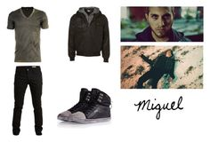 """Miguel - Lost In The Echo (Link In The D)"" by franca-helo ❤ liked on Polyvore featuring SELECTED, Pastry, D&G, men's fashion and menswear"