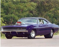 Dodge Charger R/T - 1968 Old School Muscle Cars, Old Muscle Cars, Dodge Muscle Cars, Best Muscle Cars, American Muscle Cars, Rat Rods, Dodge Charger 1968, Charger Rt, Mopar