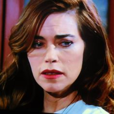 Victoria arrives at Noah's trial still reeling from her father's refusal to help and her mounting insecurity of doubting her ability to run Newman alone. She comments to Billy that she's 'far from all right.'