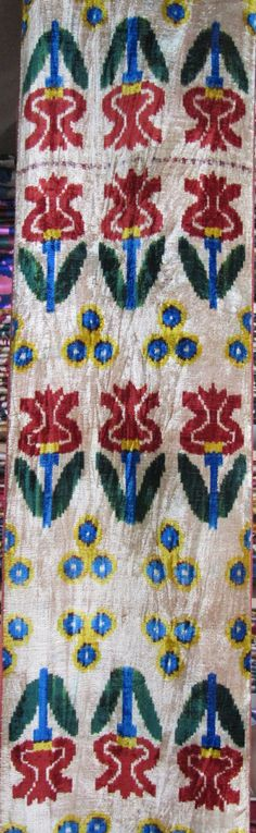 silk fabrics from uzbekistan