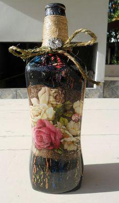 Decoupage Bottles by Carlos Rossi