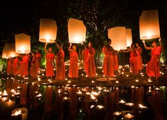 Sukhothai for Loy Krathong