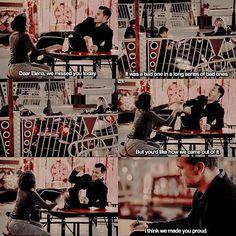 — 8x05 ↳ Ric writing to Elena made me so emotional OMG —