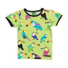 Toucan T Shirt - Light Avocado Green