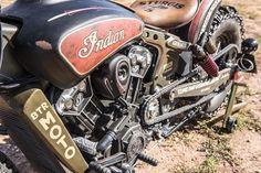 """Indian Motorcycles """"Black Hills Beast"""" Custom Motorcycle"""