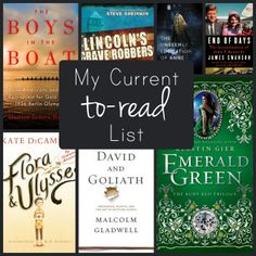 Seven books to add to your to-read list!