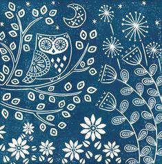 Linocut Prints, Art Prints, Block Prints, Scandinavian Folk Art, Scandinavian Pattern, Diy Inspiration, Linoprint, Woodland Creatures, Illustrations