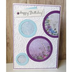 """0 mentions J'aime, 1 commentaires - Maggy Jeunesse (@jeunessemaggy) sur Instagram: """"Carte """"Happy Birthday""""... J'ai pris modèle à partir d'une carte trouvée sur pinterest, avec les…"""""""