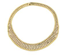 1950's Hobe Diamante Collar Necklace by House of Lavande  #TaiganHoliday