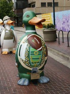 Ducks on Parade, Eugene, Oregon