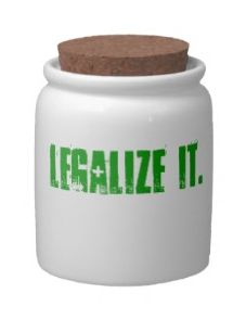 """Legalize It"" Stash Jar"