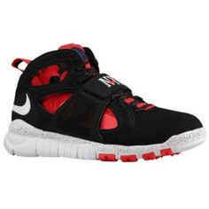 Nike Huarache Free - Men's - University Red/Rush Blue