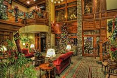 The Inn at Christmas Place. Cute little christmas hotel in Great Smoky Mtns Nat Park.