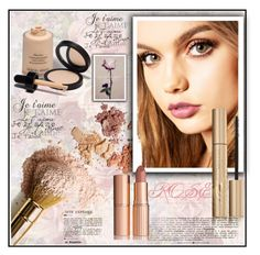 """""""La Belle Rose"""" by christinacastro830 ❤ liked on Polyvore featuring beauty, Armani Privé, LunatiCK Cosmetic Labs, Charlotte Tilbury and Stila"""