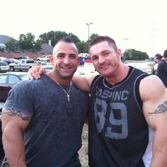 Guy Cisternino and Flex Lewis