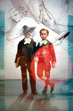 notos mag. - illustrations by Ethem Onur Bilgiç, via Behance