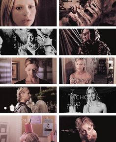 Buffy Summers: One girl in all the world. #btvs