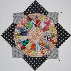 Amitie BOM block by Lynne @ Lilys Quilts, via Flickr