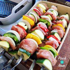 Syn Free Monster Salt and Pepper Kebabs | Slimming World