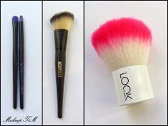 Makeup brushes - http://makeup-tim.blogspot.com/2014/03/low-budget-proizvodi-vrijedni-paznje-2.html