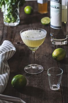 Green Chile Cocktail