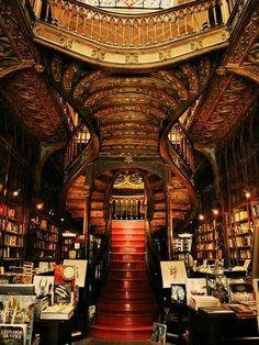 Book shop in Portuga