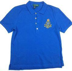 Ralph Lauren Polo Big Crest Button Shirt Size M Medium Short Sleeve | eBay & http://www.designerbrands4less.org