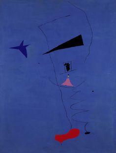 Joan Miro, Peinture (Etoile Bleue)