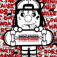 Lil Wayne Dedication 4 cover