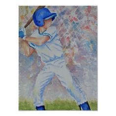 Shop Baseball Batter Poster created by SPORTY_TIME. Baseball Crafts, Baseball Quotes, Baseball Pictures, Boy Pictures, Pictures To Paint, Little League Baseball, Baseball Boys, Baseball Boyfriend, Baseball Playoffs
