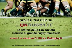 On Rugby La Sezione CLUB di OnRugby: partecipa anche tu! » On Rugby