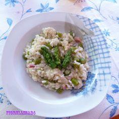 Le Delizie di Fiorellina84: Risotto con asparagi e pancetta