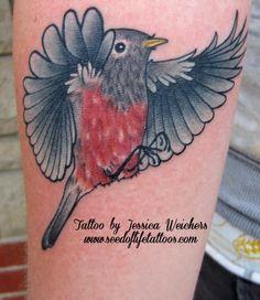 tattoo robin bird - Google Search