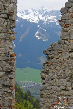 Nobody knows about Reutte - but it is 20 minutes from Fussen. Amazing forts in the mountains. More: http://bbqboy.net/photo-essay-and-travel-tips-on-reutte-and-the-ehrenberg-castle-ensemble-austria/ #reutte #austria