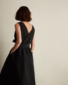 Women's Cotton/Linen Twill Dress
