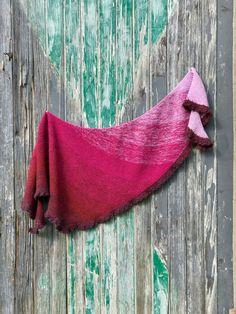 Maya Shawl Knitting Pattern