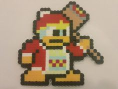 Hey, I found this really awesome Etsy listing at https://www.etsy.com/listing/201837998/king-dedede-bead-sprite-from-super-smash