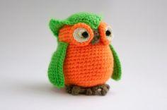Our crochet owl