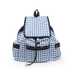 5 Summer Trends That'll Instantly Brighten Your Mood: THE TREND: GINGHAM: LeSportsac 3-Zip Voyager, $175; LeSportsac.
